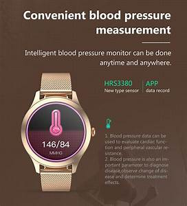 Kw10pro Female Smart Watch Heat Rate Blood Pressure Oxygen