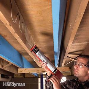 How to fix squeaky floors from above fixing floor and for Squeaky bathroom floor