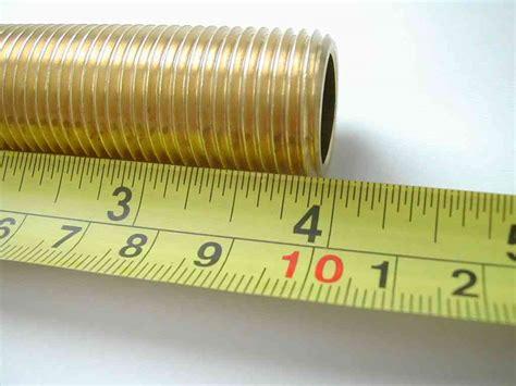 12 Inch Bsp X 4 Inch Long Brass Running Nipple