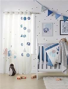 Raffrollo Kinderzimmer Junge : guirnalda con banderines habitaci n beb azul oscuro liso ~ A.2002-acura-tl-radio.info Haus und Dekorationen