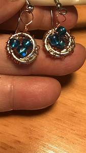 Nest Earrings Made Using Rena U2019s Instructions  U2013 Jewelry