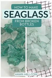 How, To, Make, Real, Sea, Glass, Using, Broken, Glass