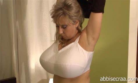 Extremely Huge Breasted In Braless Gushing Outfits Immense Breast Milfs In Bras