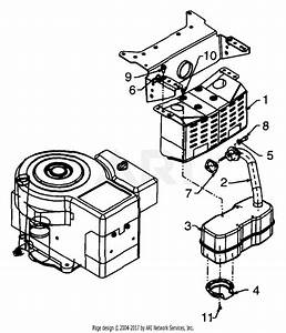 Mtd 13ah667f196  1999  Parts Diagram For Engine