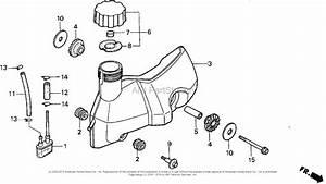Honda F210k2 A Rototiller  Jpn  Vin  F210