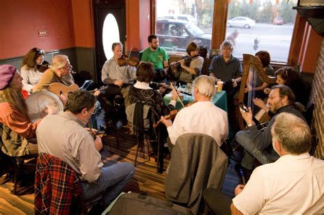 An Irish music session on Forest Avenue makes something ...