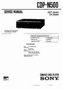 Sony Cdp
