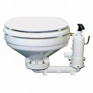 Groco U00ae Hf-b - Marine Toilet With Manual Pump