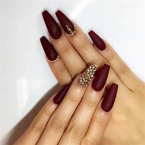 30 amazing burgundy nail designs for 2019 pretty
