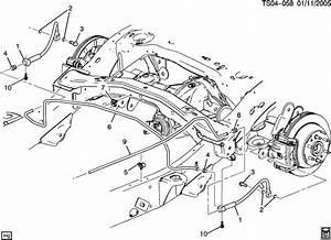 2005 Chevy Silverado Brake Line Diagram