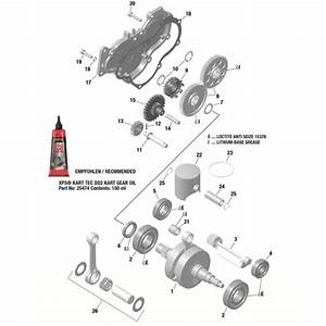 Rotax Max Balance Shaft Circlip