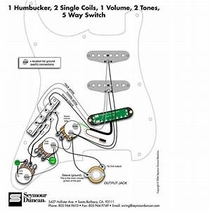 Seymour Duncan Hot Rails Wiring Diagram