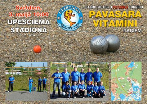 Pavasara Vitamīni | Latvijas petanka sporta federācija