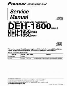 Pioneer Deh P5000ub Wiring Diagram