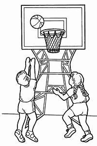 Simple Basketball Drawing At Getdrawings