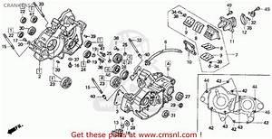 Honda Cr125r 1993  P  Usa Crankcase