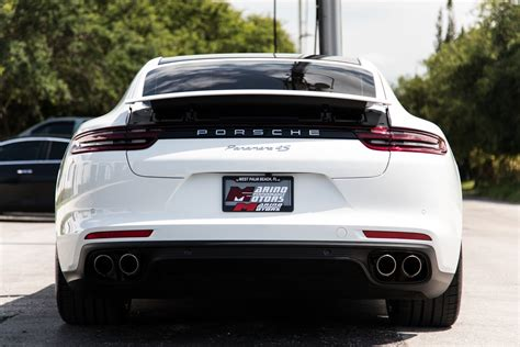 Delivery, processing and handling fee; Used 2018 Porsche Panamera 4S For Sale ($89,900) | Marino Performance Motors Stock #134164