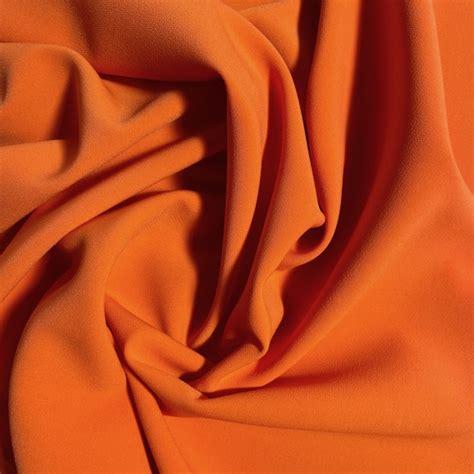 Krepa poliamidowa z elastanem - Pomarańczowa - Manufaktura