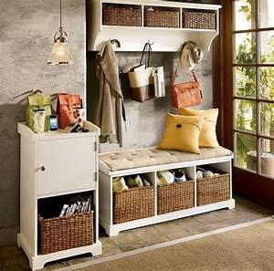 meuble de rangement pour l39entree en 35 idees magnifiques With meuble rangement entree couloir 3 meuble entree porte manteau
