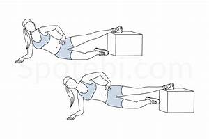 Inner Thigh Raise To Plank