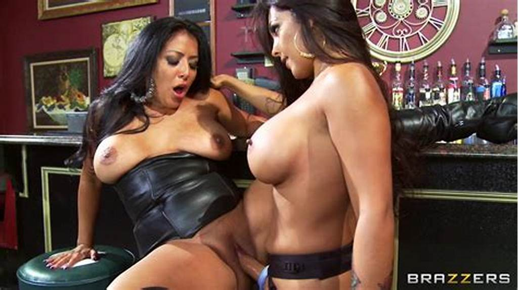 #Busty #Lesbian #Nina #Mercedez #Fucks #The #Shit #Out #Of #Kiara