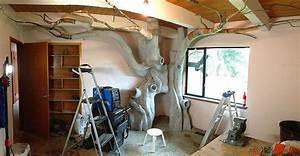 Das Coolste Kinderzimmer Der Welt : dad spends 18 months transforming daughter s bedroom into fairytale treehouse bored panda ~ Bigdaddyawards.com Haus und Dekorationen