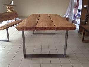 Tischgestell Holz Selber Bauen : dieser tisch ist ein unikat gefertigt aus selbst geschlagenem holz am niederrhein die ~ Watch28wear.com Haus und Dekorationen