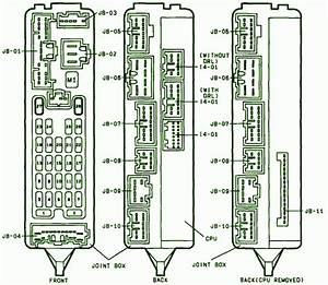 2001 Mazda 626 Fuse Box Diagram  U2013 Auto Fuse Box Diagram