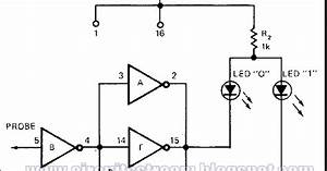 cmos universal logic probe circuit diagram With simple pwm inverter circuit diagram using pwm chip sg3524 circuits