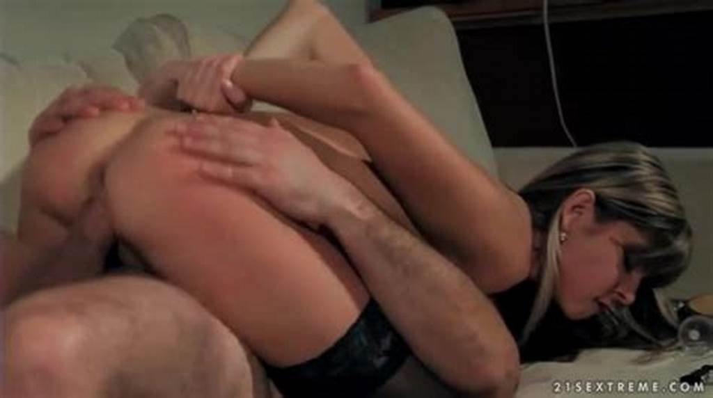 #Cutie #Rides #Old #Man #Cock #In #Stockings