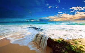 Tropical Beach Water Wallpaper | I HD Images