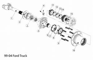 34 Ford F250 Front Axle Parts Diagram