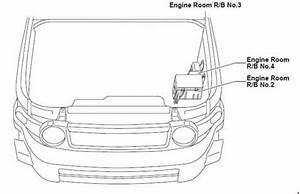 Toyota Fj Cruiser - Fuse Box Diagram