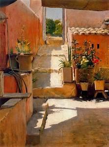 Jardines Y Patios De Santiago Rusi U00f1ol
