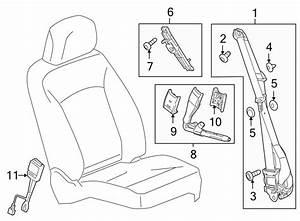 Buick Regal Seat Belt Receptacle  Cashmere