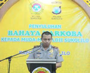 Pin Oleh Putu Eka Jaya Penyuluhan Narkoba Kapolsek Sukolilo Surabaya Ldii Surabaya