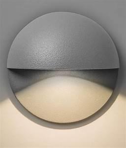 Round Half Dome Led Wall Light