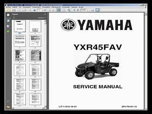 Yamaha Rhino 450 Utv Service Manual