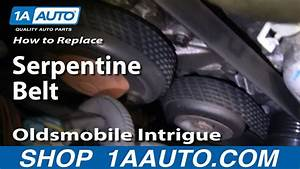 How To Install Replace Engine Serpentine Accessory Belt