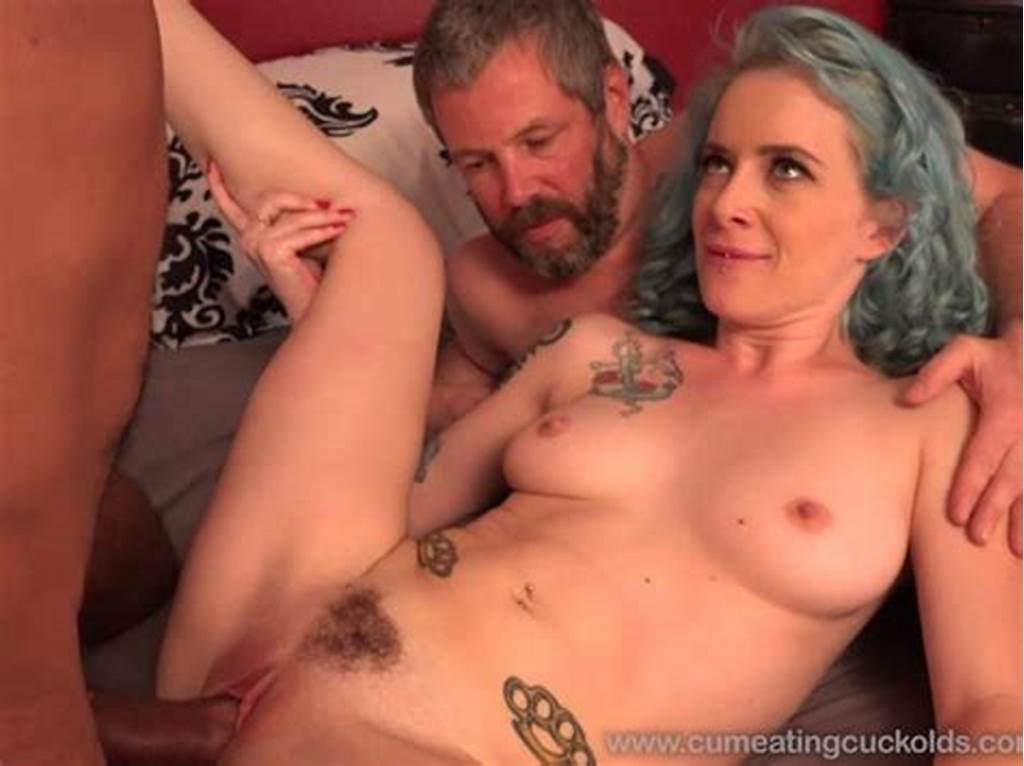 #Wife #Share #A #Cock #With #Husband #And #He #Eats #Cum