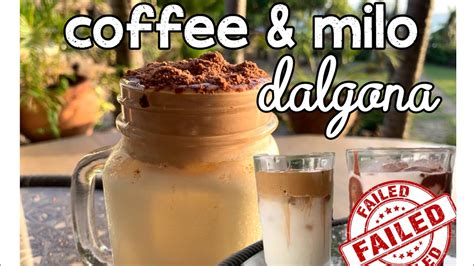 Chain of coffee shops operating in the philippines. Coffee Dalgona & Milo Dalgona (with & without ovalette substitute)   Philippines - YouTube