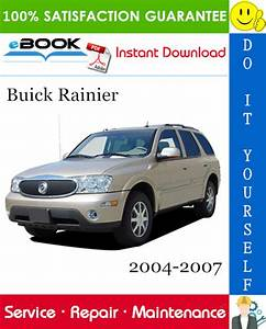 Buick Rainier Service Repair Manual 2004