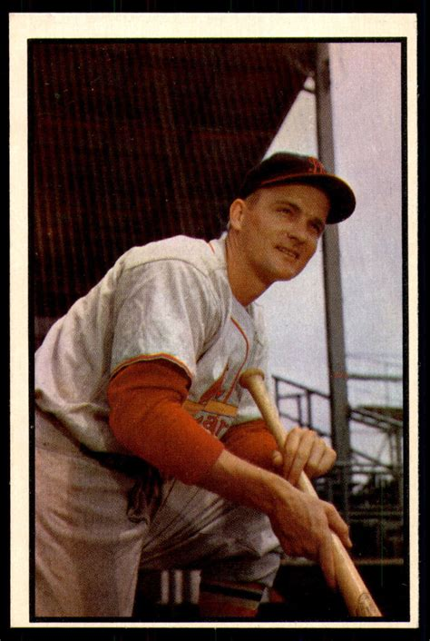 However, selling your vintage baseball, football, basketball or hockey cards through those who specialize in buying is one way to go and there are several options to again, seeking out other cards that have sold is a good way to get some idea of what they go for. 1953 Bowman #142 Larry Miggins Near Mint+ RC Rookie Cardinals ID:253115 | eBay