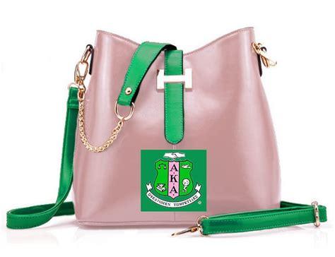 Alpha Kappa Alpha Handbags | Aka sorority gifts, Alpha kappa alpha luggage, Alpha kappa alpha