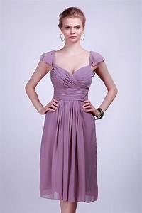 Robe Pour Femme Ronde : robe de soir e courte pliss mancheron pour femme ronde ~ Nature-et-papiers.com Idées de Décoration