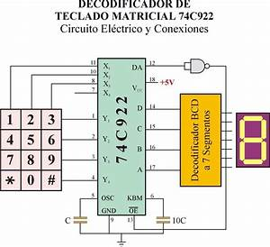 4x4 Keypad To 4bit Abcd Converter
