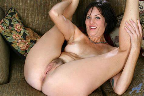 Small Titted American Housewife Playing With Her Toys