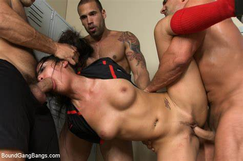 Groupsex Sex Gangbang In The Mountains bound gang bangs