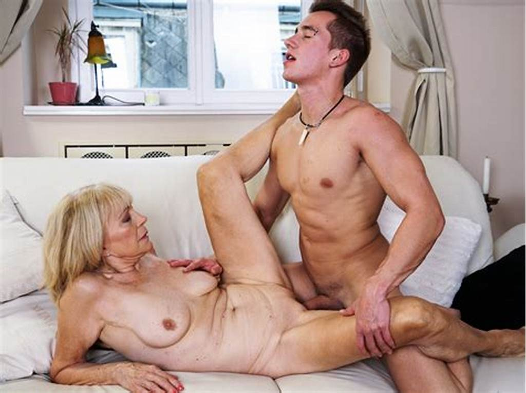 #Mature #Mom #Enjoys #Deep #Fuck #With #Her #Younger #Lover #On