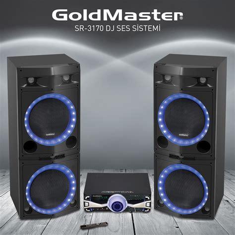 Goldmaster Sr-3170 Bt Dj Ses Sistemi